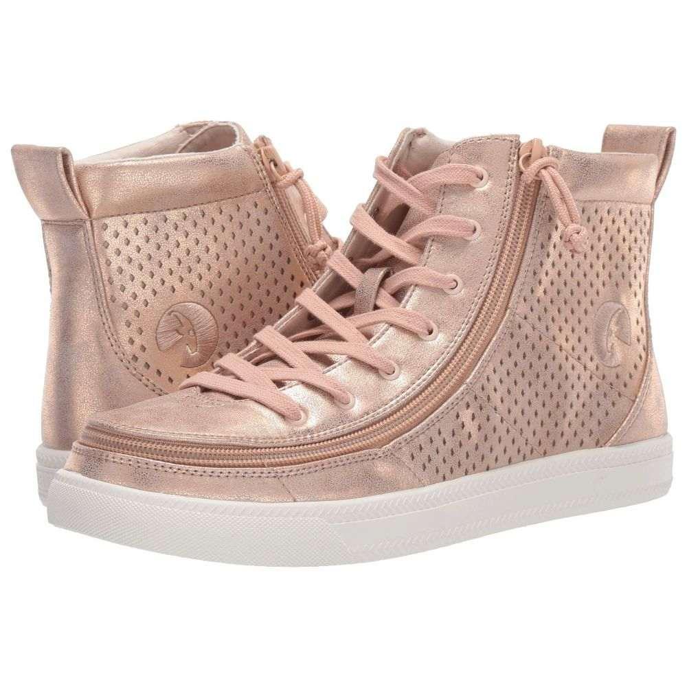 ビリーフットウェア BILLY Footwear レディース シューズ・靴 スニーカー【Classic Lace High Metallic】Rose Gold Shine
