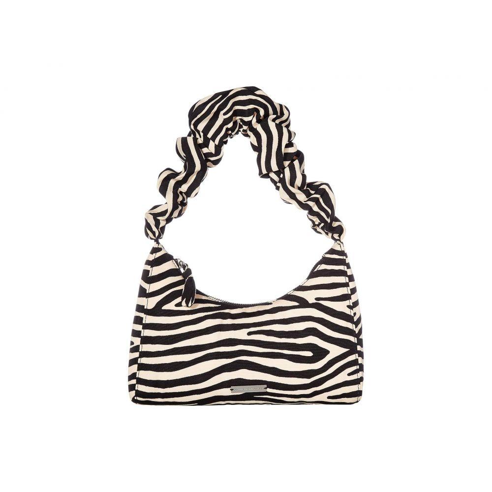 ロフラーランドール Loeffler Randall レディース バッグ ショルダーバッグ【Aurora Scrunchie Strap Shoulder Bag】Zebra