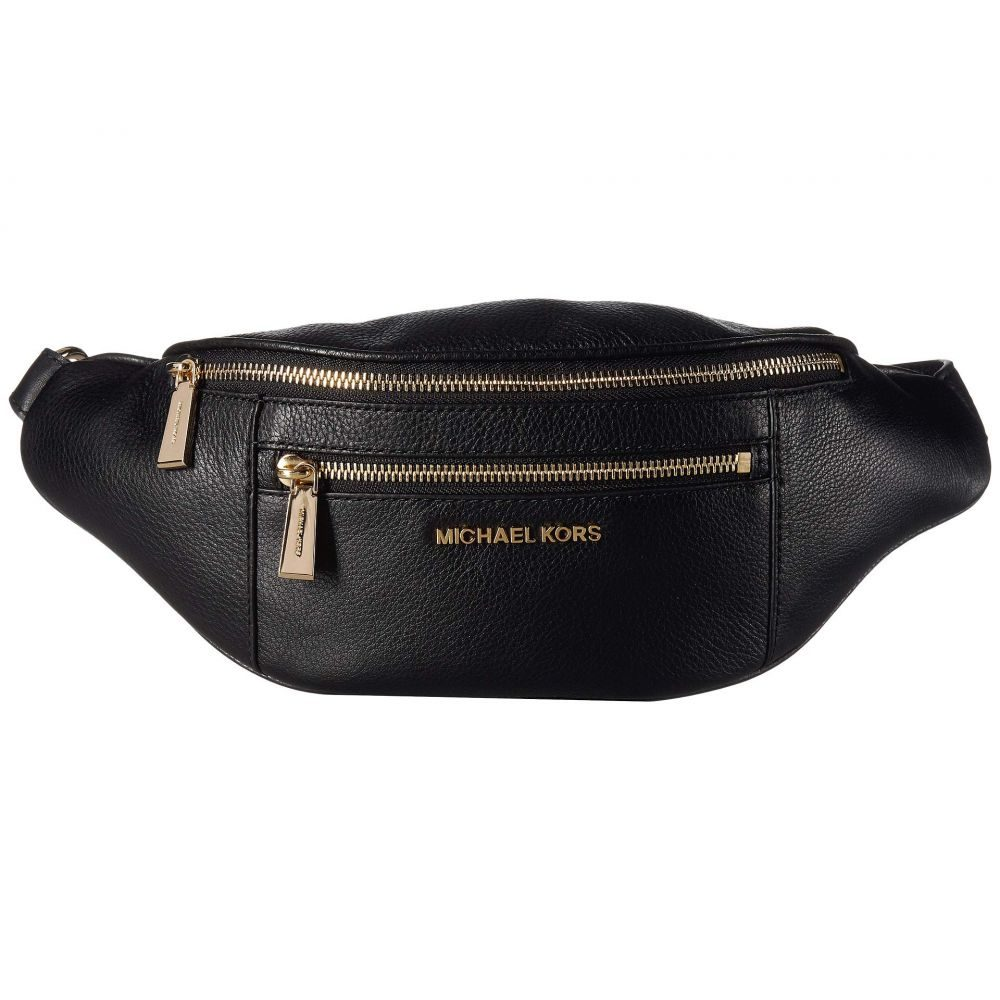 マイケル コース MICHAEL Michael Kors レディース バッグ ボディバッグ・ウエストポーチ【Mott Medium Waistpack】Black