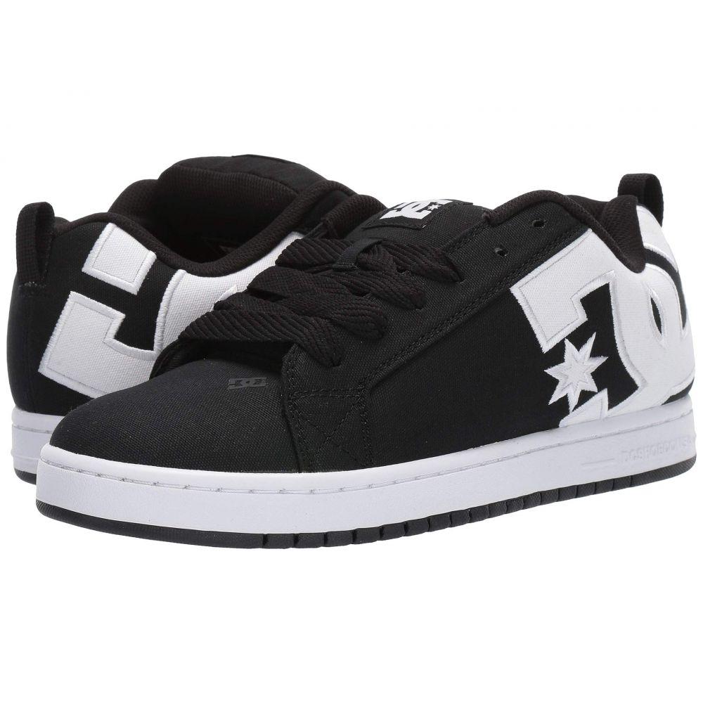 ディーシー DC メンズ シューズ・靴 スニーカー【Court Graffik TX】Black/White