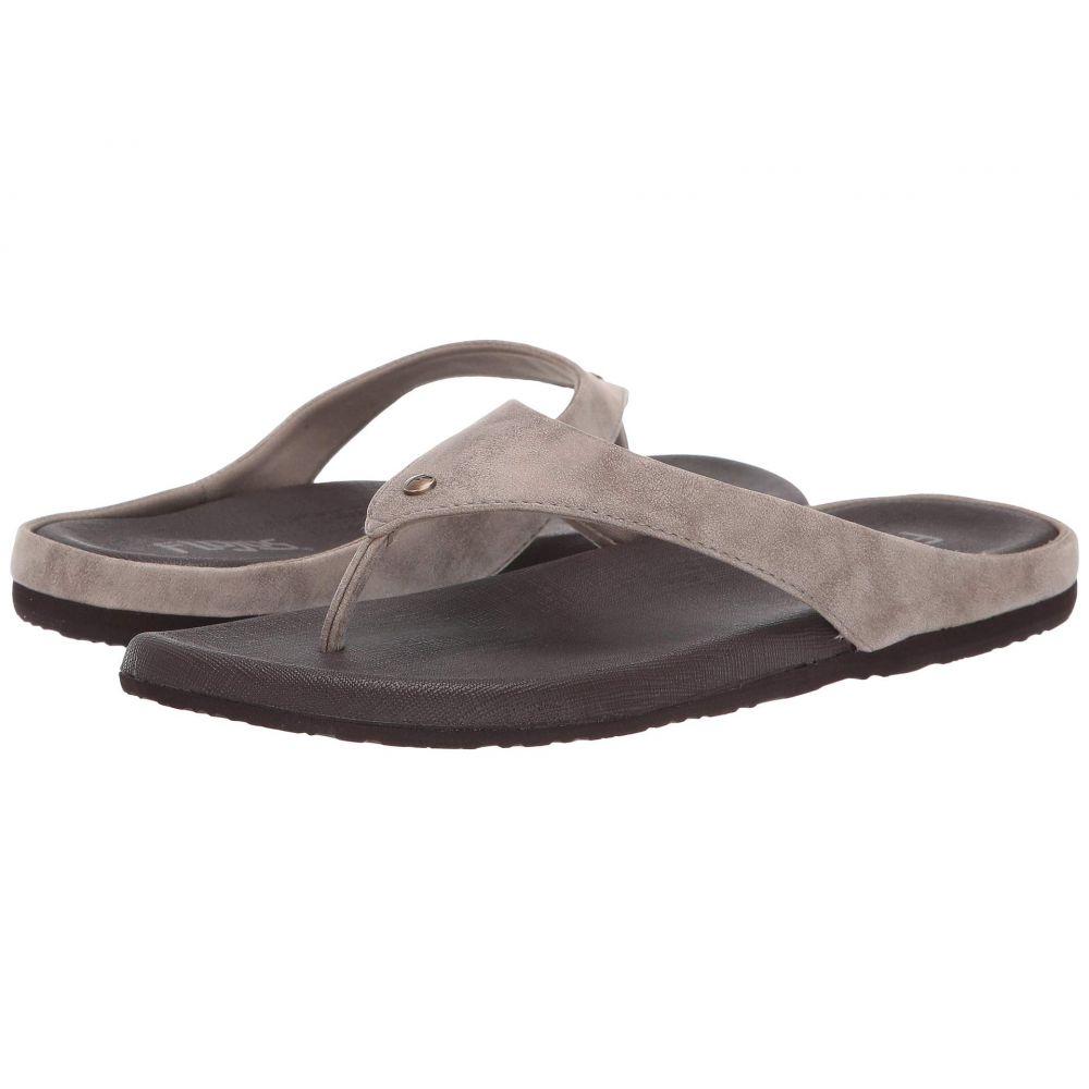 フロジョス Flojos レディース シューズ・靴 ビーチサンダル【Rochelle】Taupe/Brown