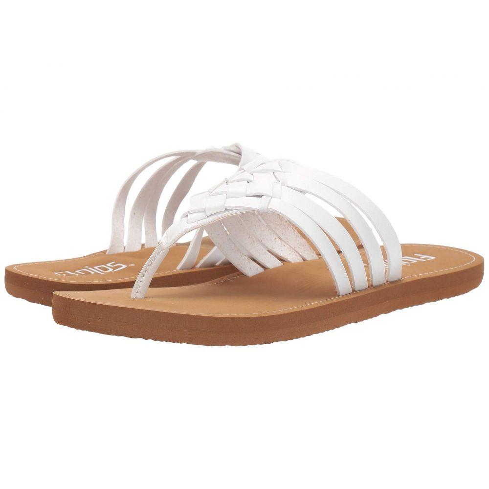 フロジョス Flojos レディース シューズ・靴 ビーチサンダル【Elena】White/Tan