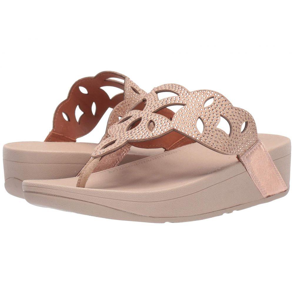 フィットフロップ FitFlop レディース シューズ・靴 ビーチサンダル【Elora Crystal Toe Thong Sandal】Rose Gold