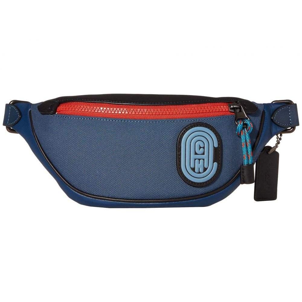 コーチ COACH メンズ バッグ ボディバッグ・ウエストポーチ【Rivington Belt Bag 7 with Coach Patch】JI/True Blue Multi