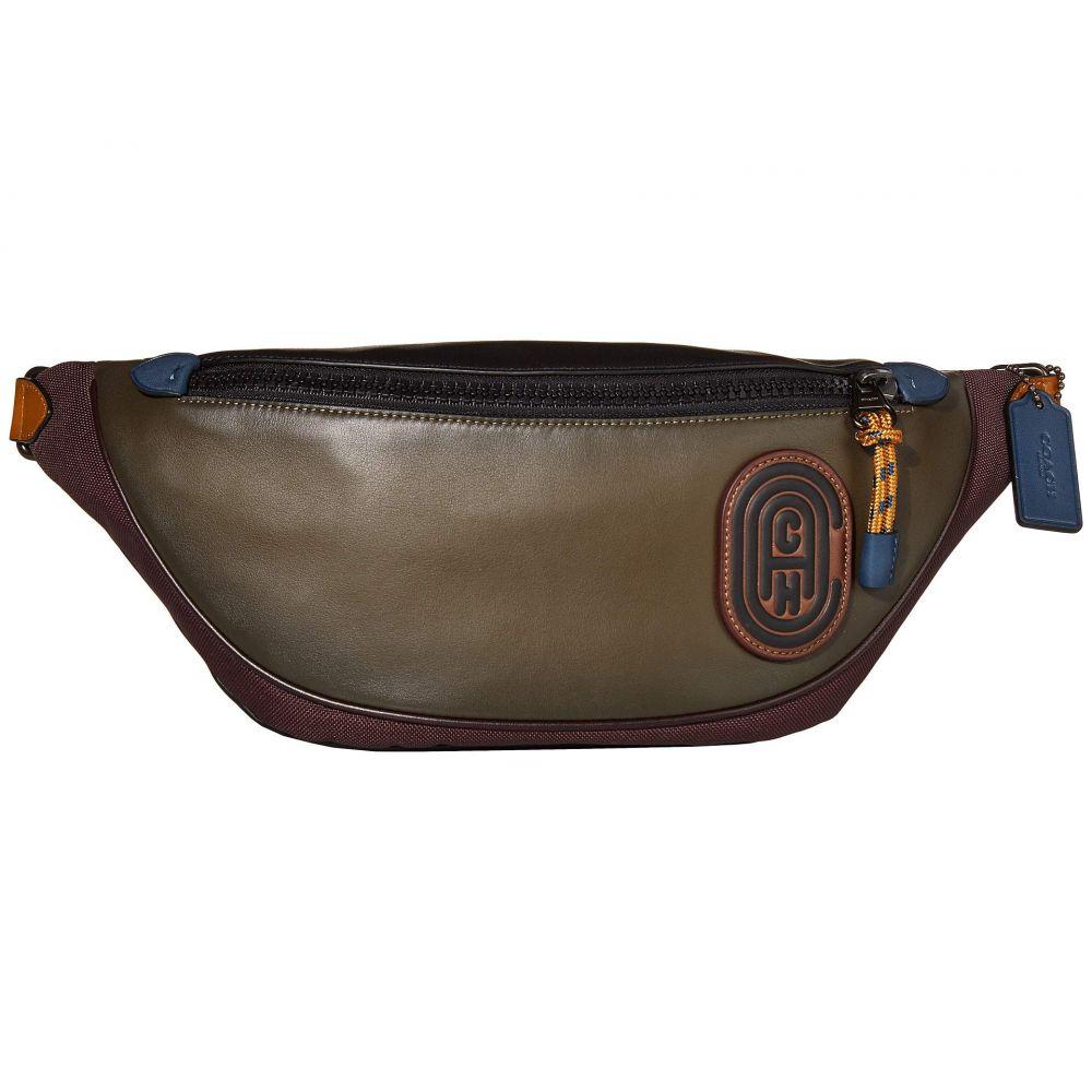 コーチ COACH メンズ バッグ ボディバッグ・ウエストポーチ【Rivington Belt Bag】JI/Moss Multi
