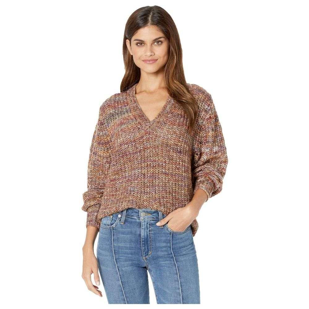 スプレンディッド Splendid レディース トップス ニット・セーター【V-Neck Marled Pullover Sweater】Briar Multi