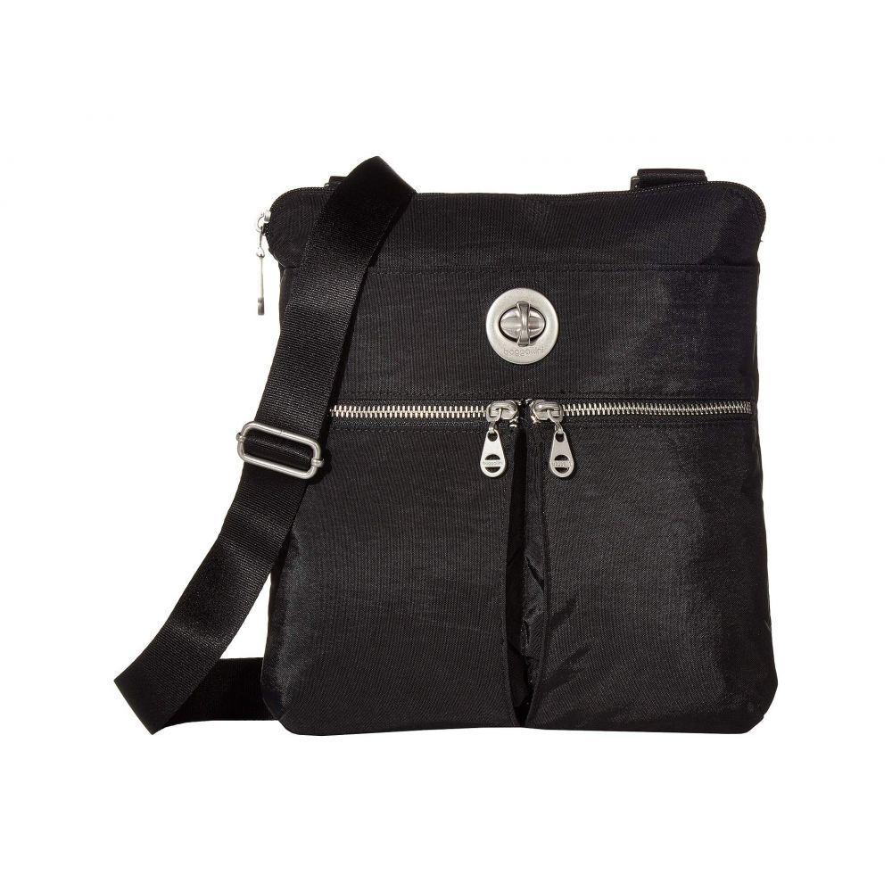 バッガリーニ Baggallini レディース バッグ ショルダーバッグ【Madras RFID Crossbody Bag】Black