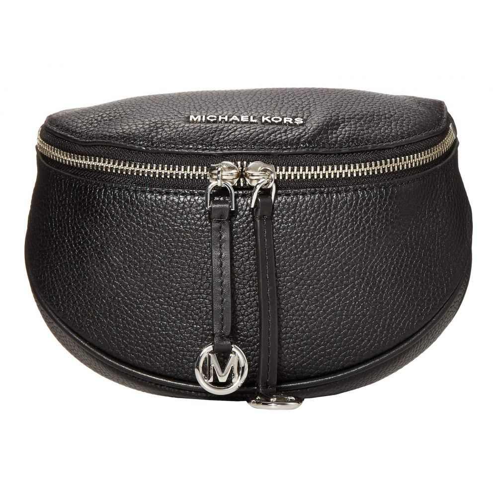 マイケル コース MICHAEL Michael Kors レディース バッグ ショルダーバッグ【Bedford Legacy Medium Round Belt Bag Crossbody】Black