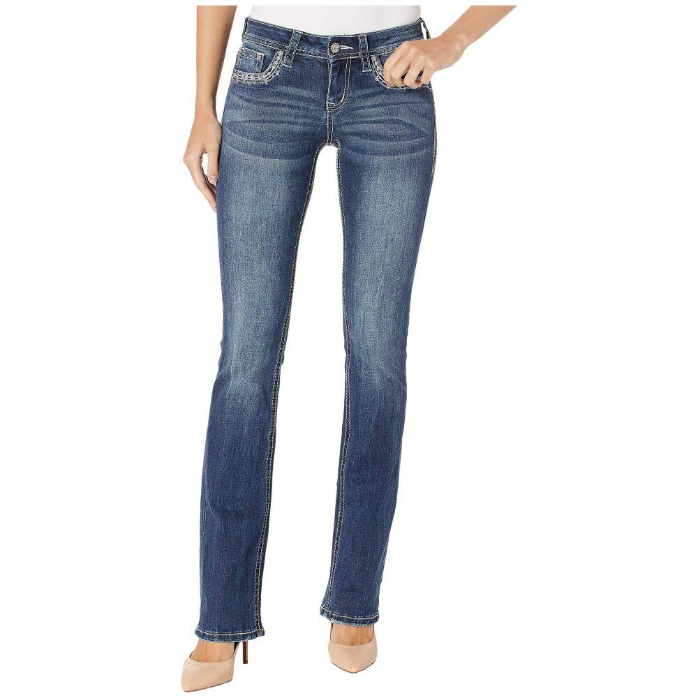 グレース イン LA Grace in LA レディース ボトムス・パンツ ジーンズ・デニム【Feather Mid-Rise Bootcut Jeans in Medium Blue】Medium Blue