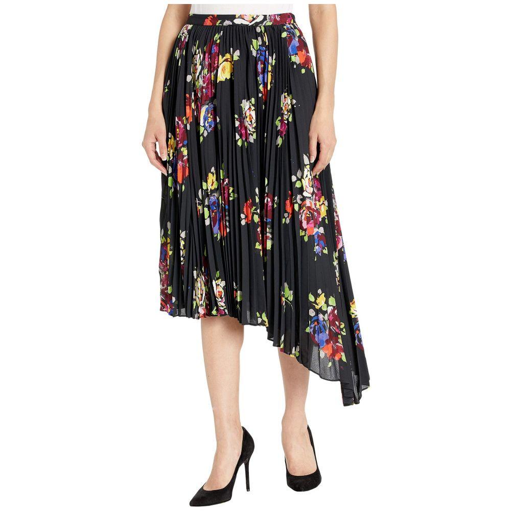 ケイト スペード Kate Spade New York レディース スカート【Rare Roses Pleated Skirt】Black
