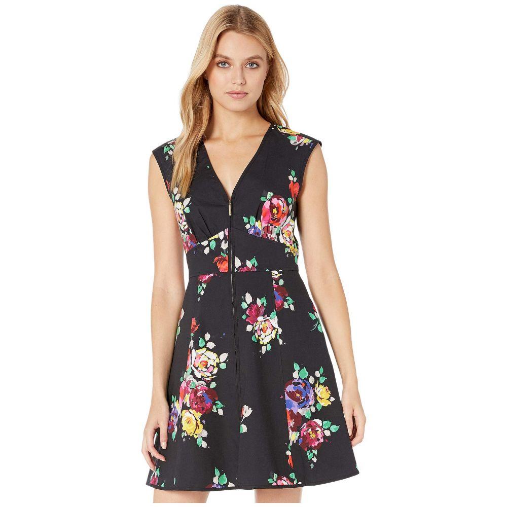 ケイト スペード Kate Spade New York レディース ワンピース・ドレス ワンピース【Rare Roses Poplin Dress】Black