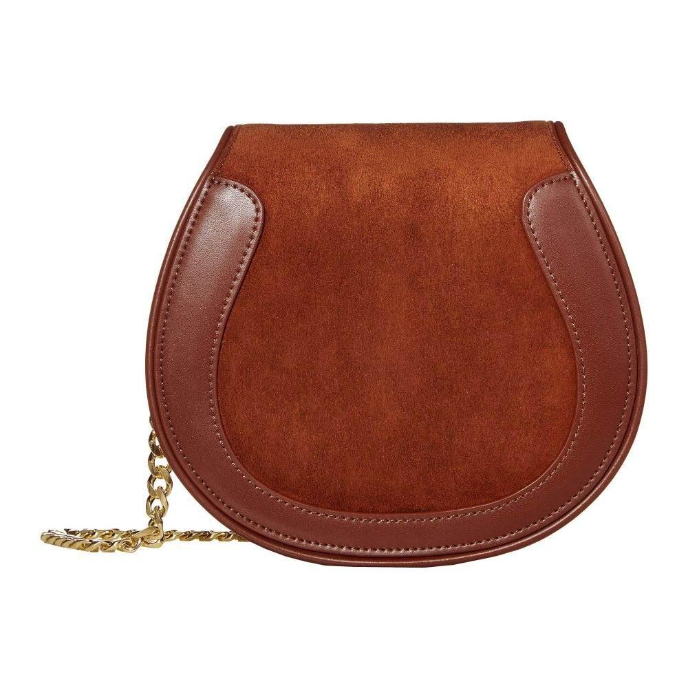 サンシア SANCIA レディース バッグ ショルダーバッグ【Ellea Mini Saddle】Vintage Tan
