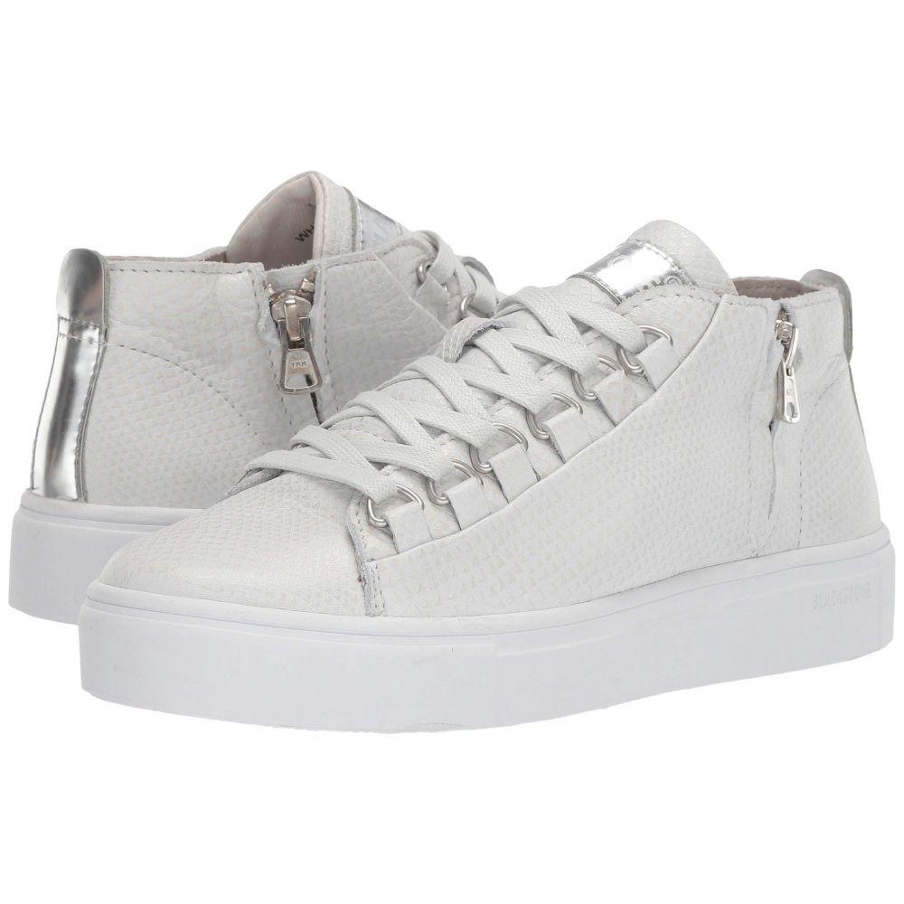 ブラックストーン Blackstone レディース シューズ・靴 スニーカー【Mid Sneaker - NL28】White Metallic