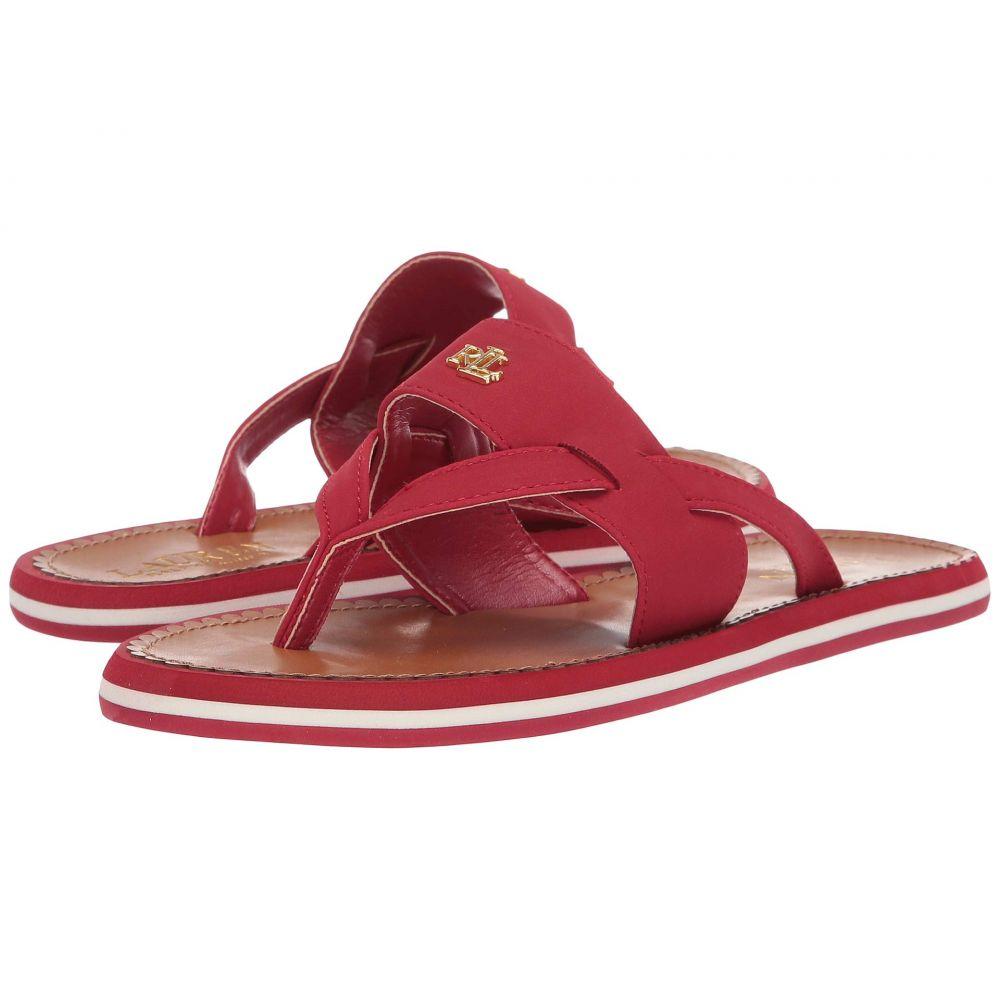 ラルフ ローレン LAUREN Ralph Lauren レディース シューズ・靴 ビーチサンダル【Rosalind】Rl Red Nubuck Pu