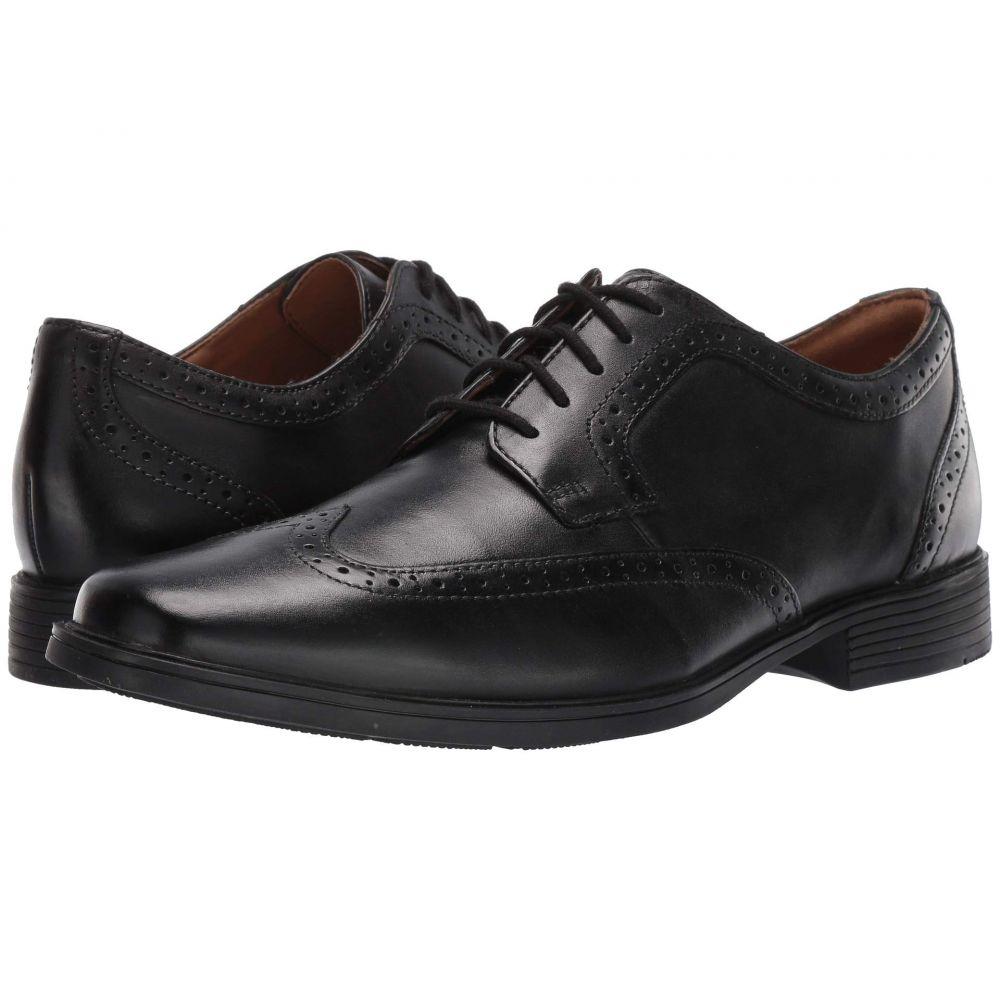 クラークス Clarks メンズ シューズ・靴 革靴・ビジネスシューズ【Tilden Wing】Black Leather