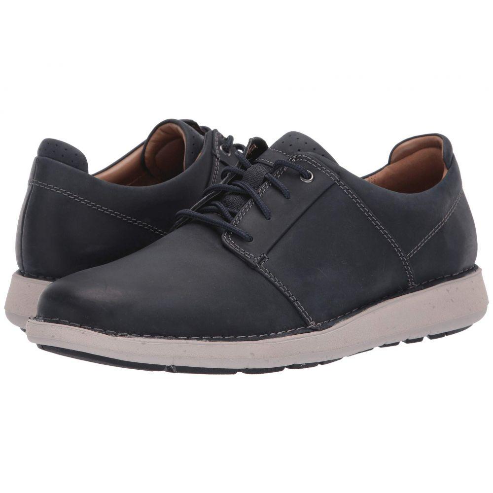 クラークス Clarks メンズ シューズ・靴 スニーカー【Un Larvik Lace】Navy Oily Leather