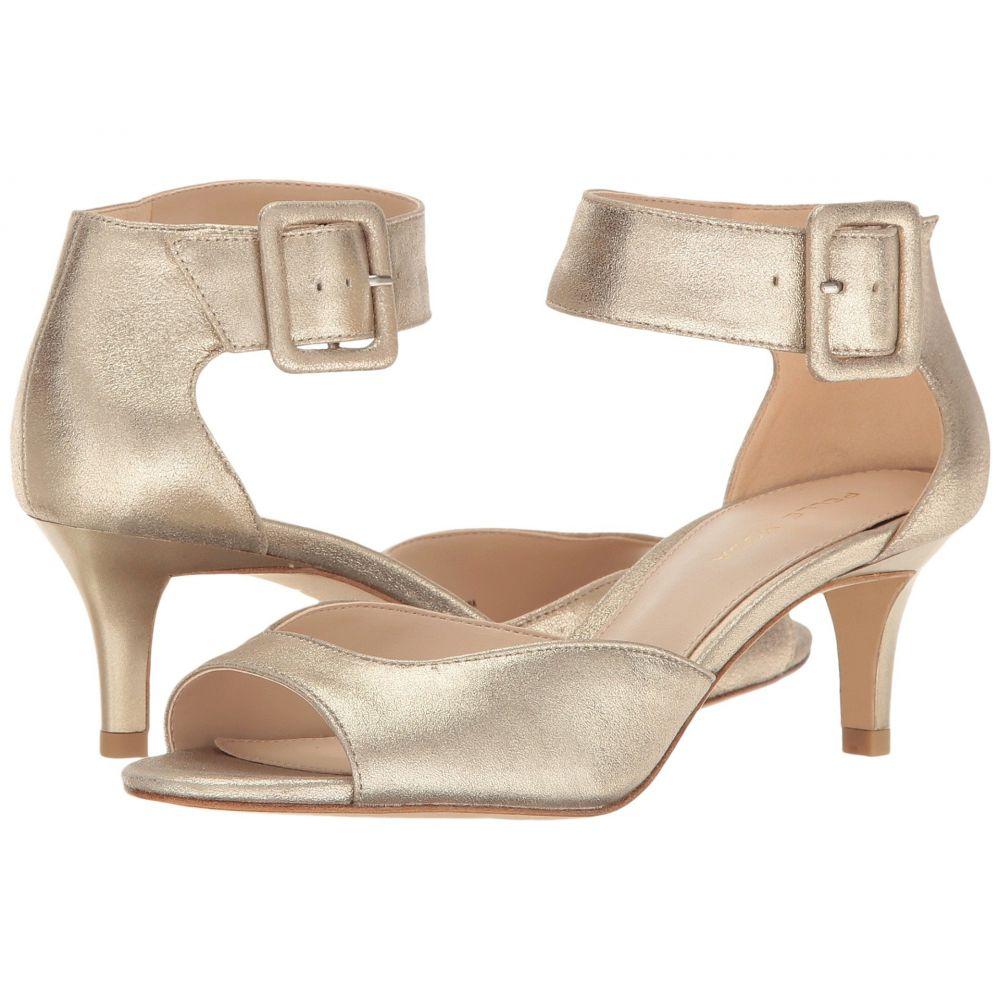 ペレ モーダ Pelle Moda レディース シューズ・靴 サンダル・ミュール【Berlin】Platinum Gold Metallic Suede
