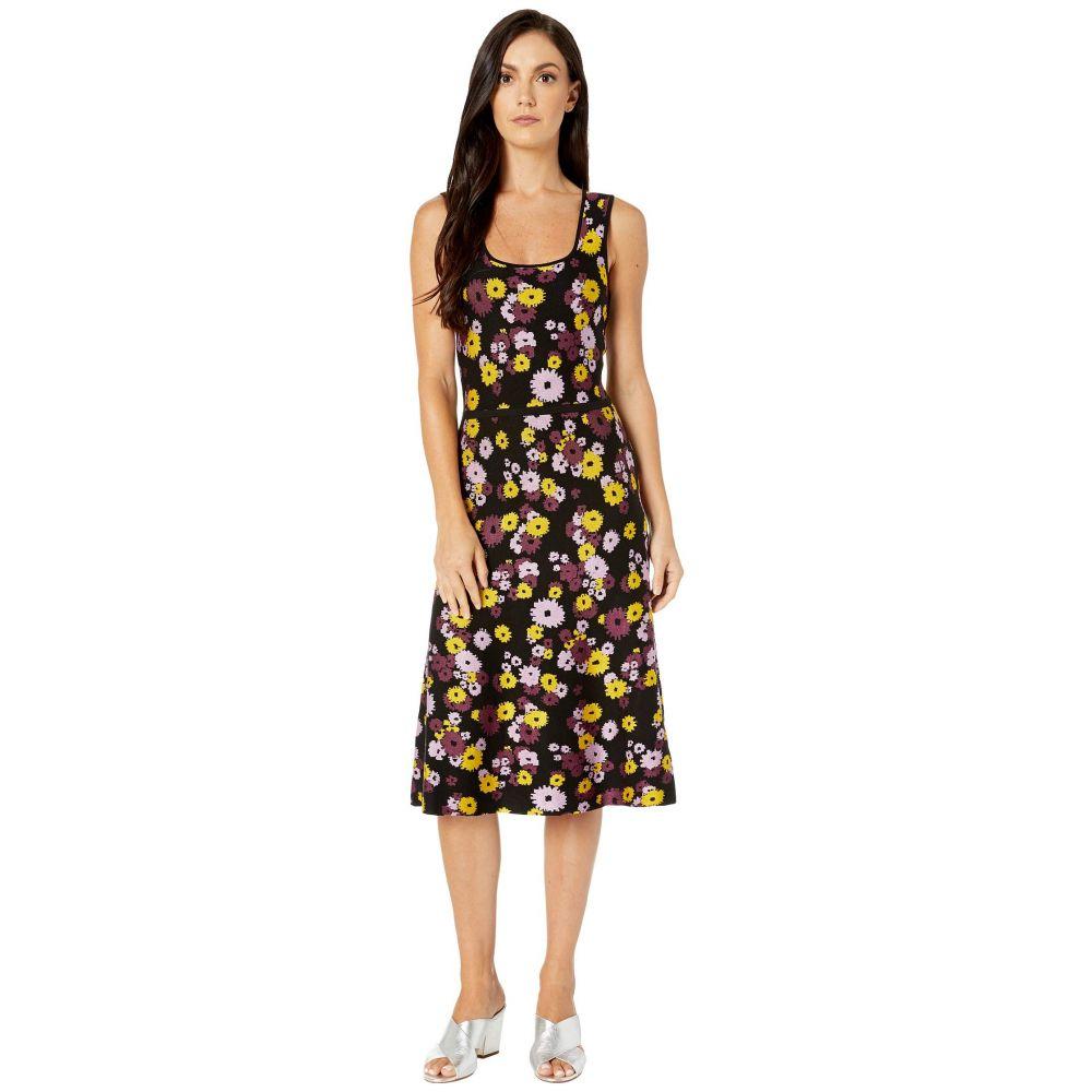 ケイト スペード Kate Spade New York レディース ワンピース・ドレス ワンピース【Jacquard Floral Sweater Dress】Black
