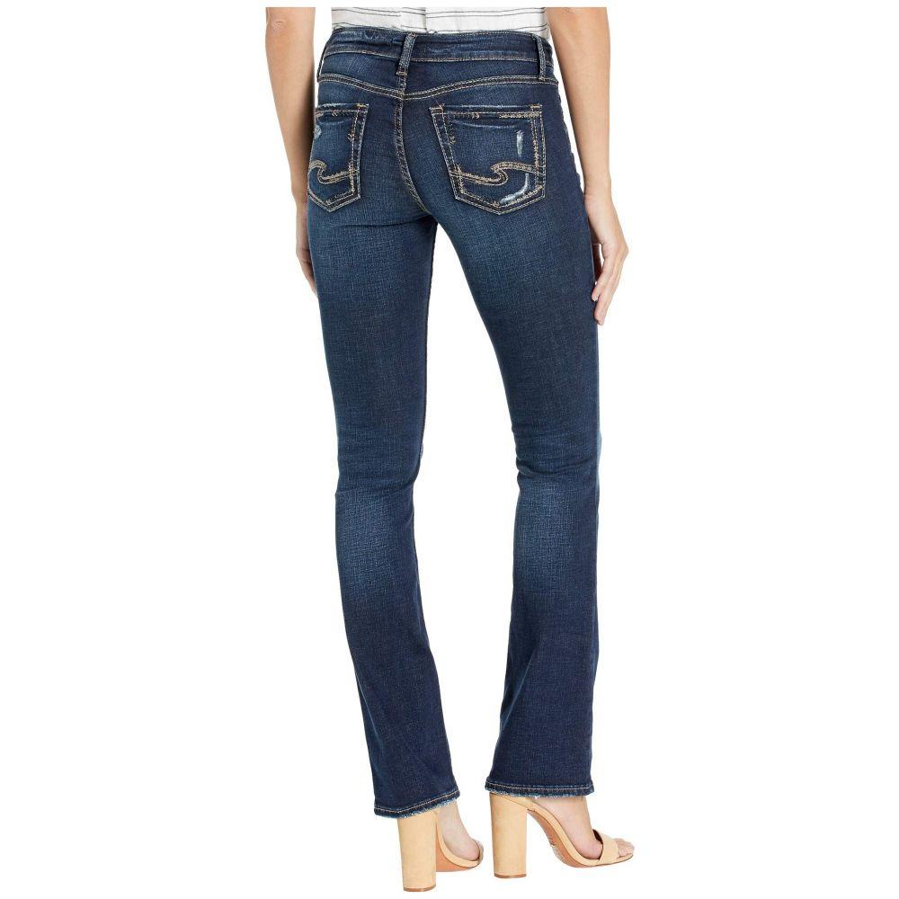 シルバー ジーンズ Silver Jeans Co. レディース ボトムス・パンツ ジーンズ・デニム【Elyse Mid-Rise Curvy Fit Slim Bootcut Jeans in Indigo L03601SDK470】Indigo
