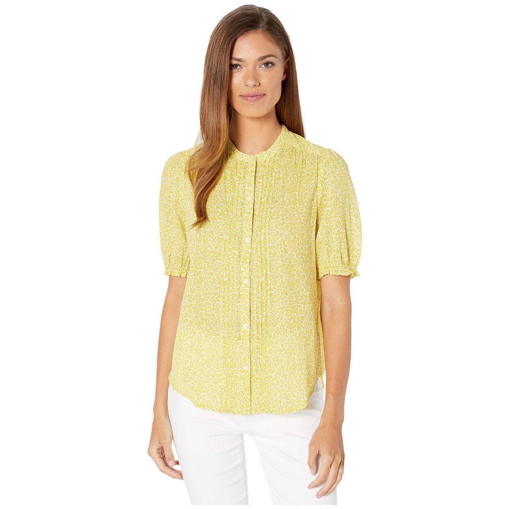 ラッキーブランド Lucky Brand レディース トップス ブラウス・シャツ【Dakota Ruffle Sleeve Top】Yellow Multi