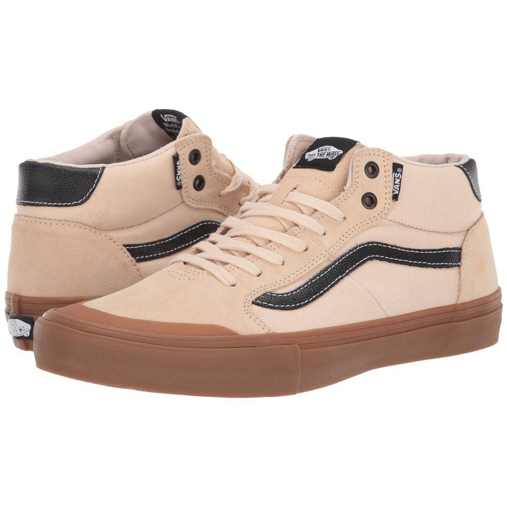 ヴァンズ Vans メンズ シューズ・靴 スニーカー【Style 112 Mid Pro】Ty Morrow) Macadamia/Gum