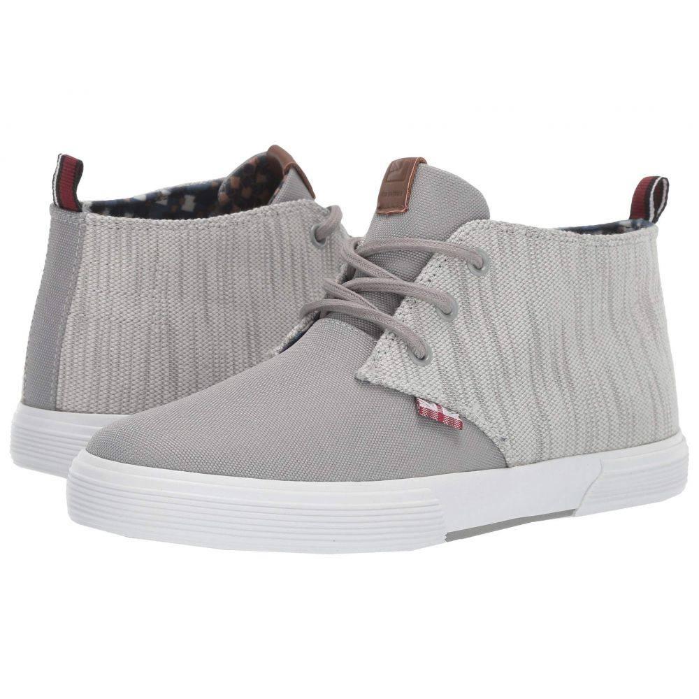 ベンシャーマン Ben Sherman メンズ シューズ・靴 スニーカー【Bradford Chukka】Grey Cotton/Nylon