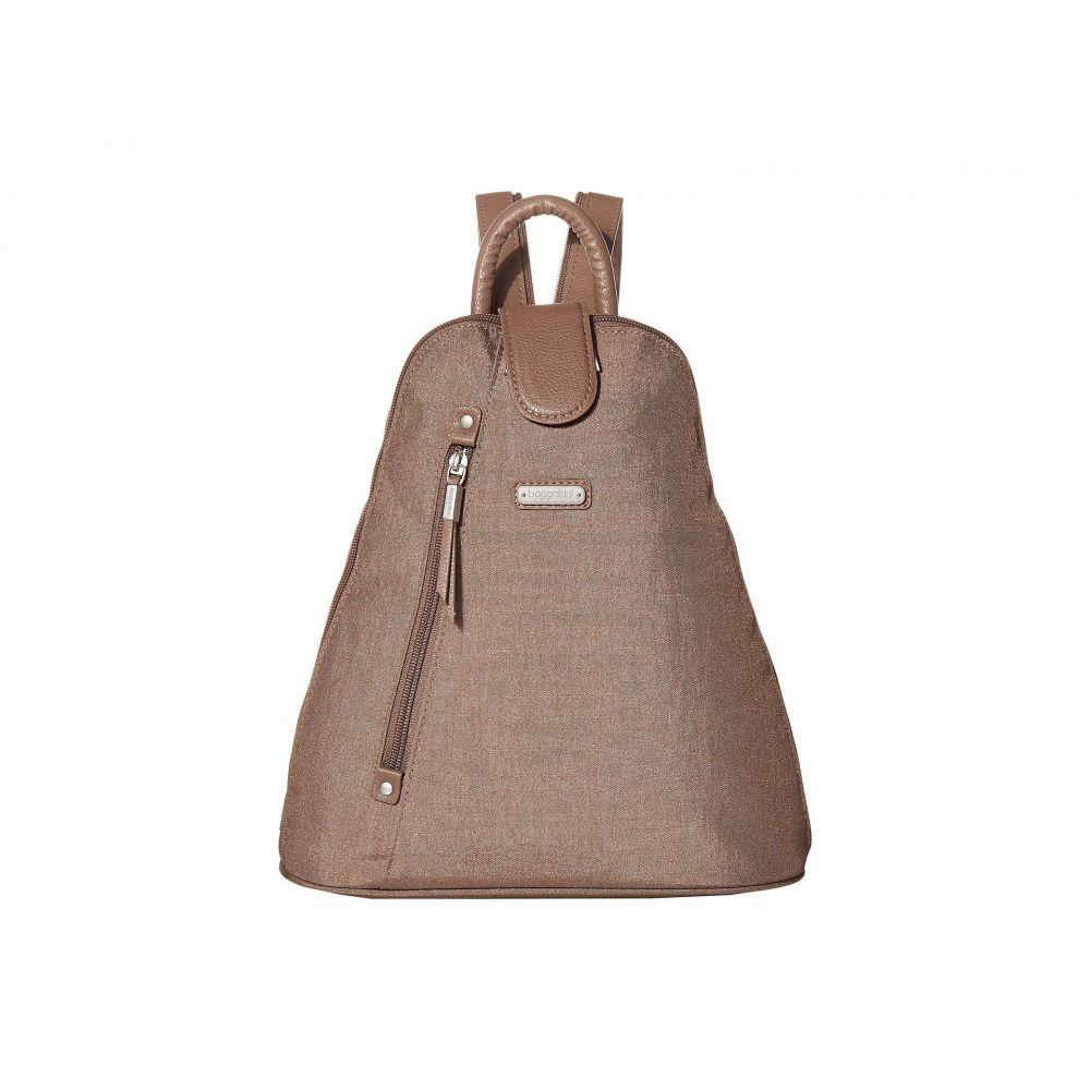 バッガリーニ Baggallini レディース バッグ バックパック・リュック【Metro Backpack with RFID Phone Wristlet】Portobello Shimmer