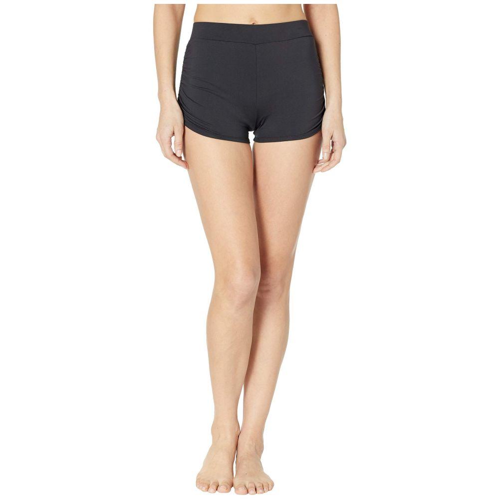 カーヴデザイン Carve Designs レディース 水着・ビーチウェア ボトムのみ【Barbados Swim Shorts】Black