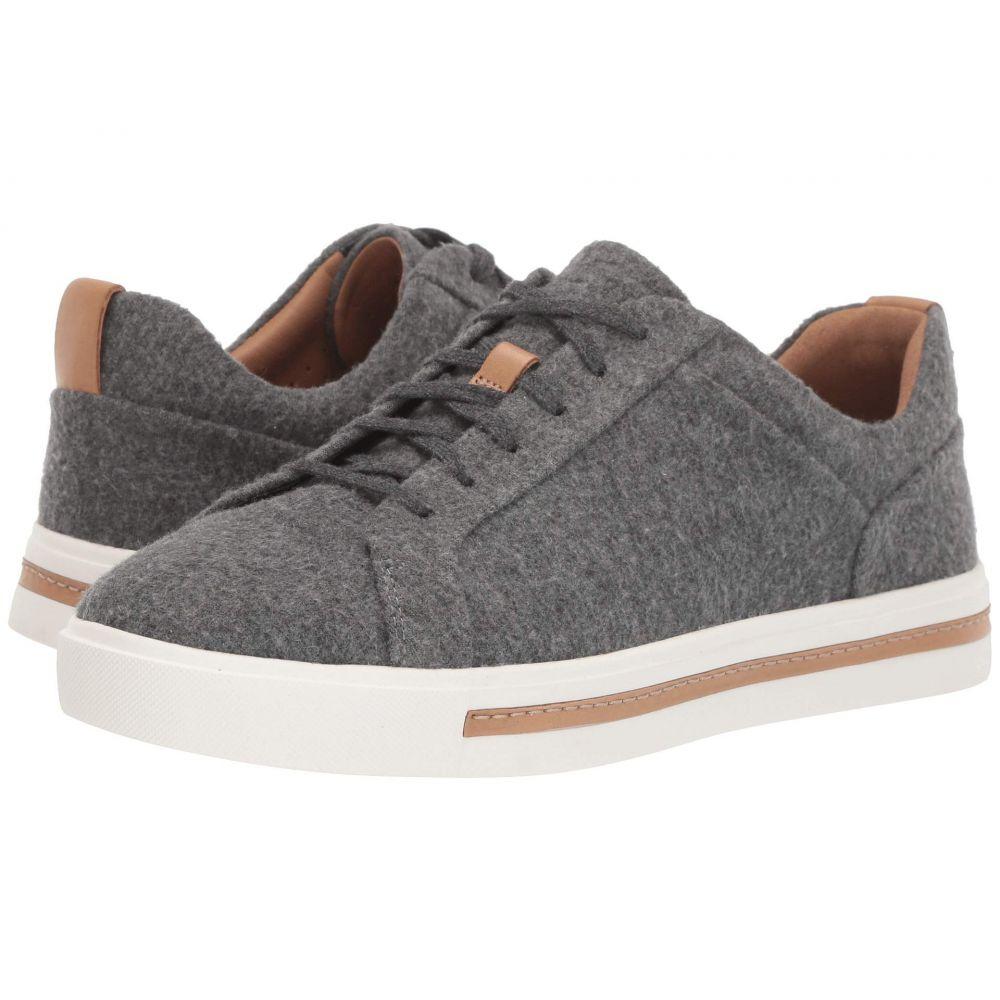 クラークス Clarks レディース シューズ・靴 スニーカー【Un Maui Lace】Grey Textile