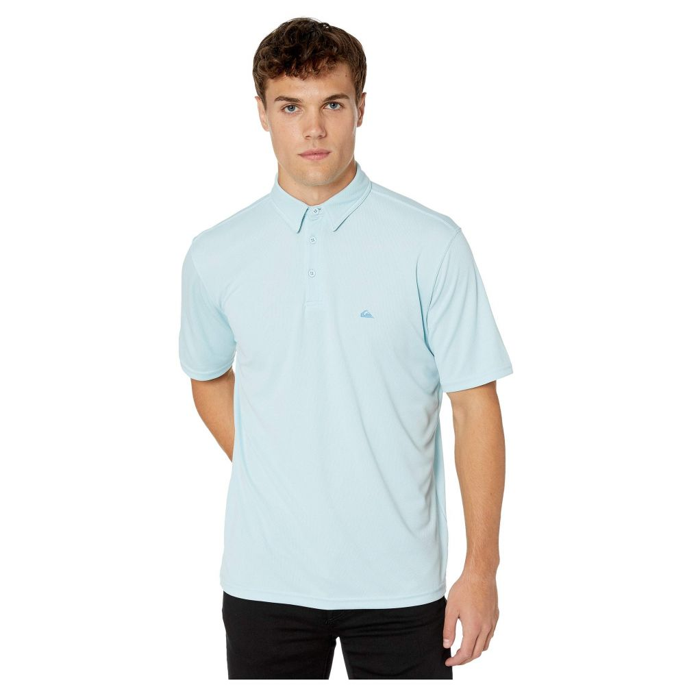 クイックシルバー Quiksilver Waterman メンズ トップス ポロシャツ【Water Polo 2】Crystal Blue
