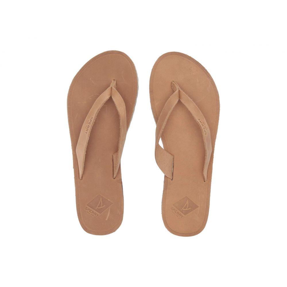 スペリー Sperry レディース シューズ・靴 ビーチサンダル【Wharf Thong Leather】Light Peanut