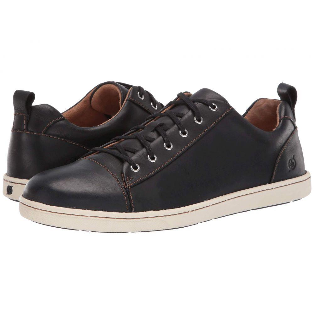 ボーン Born メンズ スニーカー シューズ・靴【Allegheny】Black Full Grian Leather