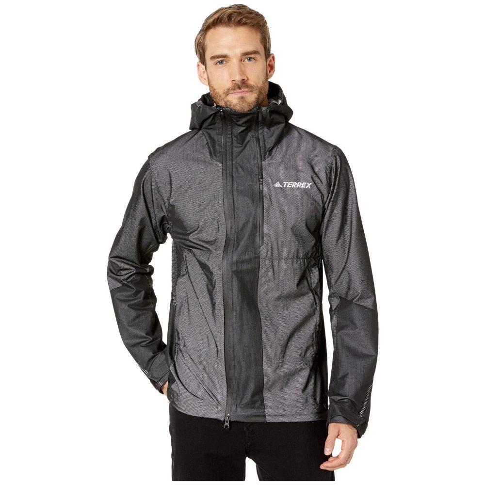 アディダス adidas Outdoor メンズ ジャケット アウター【Primeknit Climaproof Jacket】Black