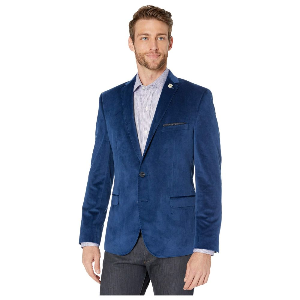 ニック グラハム Nick Graham メンズ スーツ・ジャケット アウター【Velvet Blazer】Blue