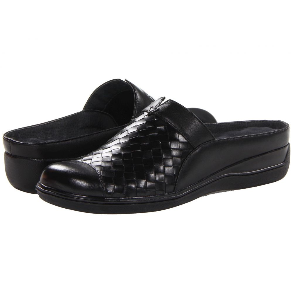 ソフトウォーク SoftWalk レディース サンダル・ミュール シューズ・靴【San Marcos】Black Burnished Veg Leather