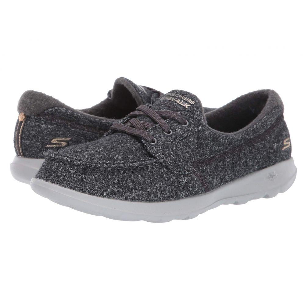 スケッチャーズ SKECHERS Performance レディース スニーカー シューズ・靴【Go Walk Lite Wash-A-Wool】Charcoal