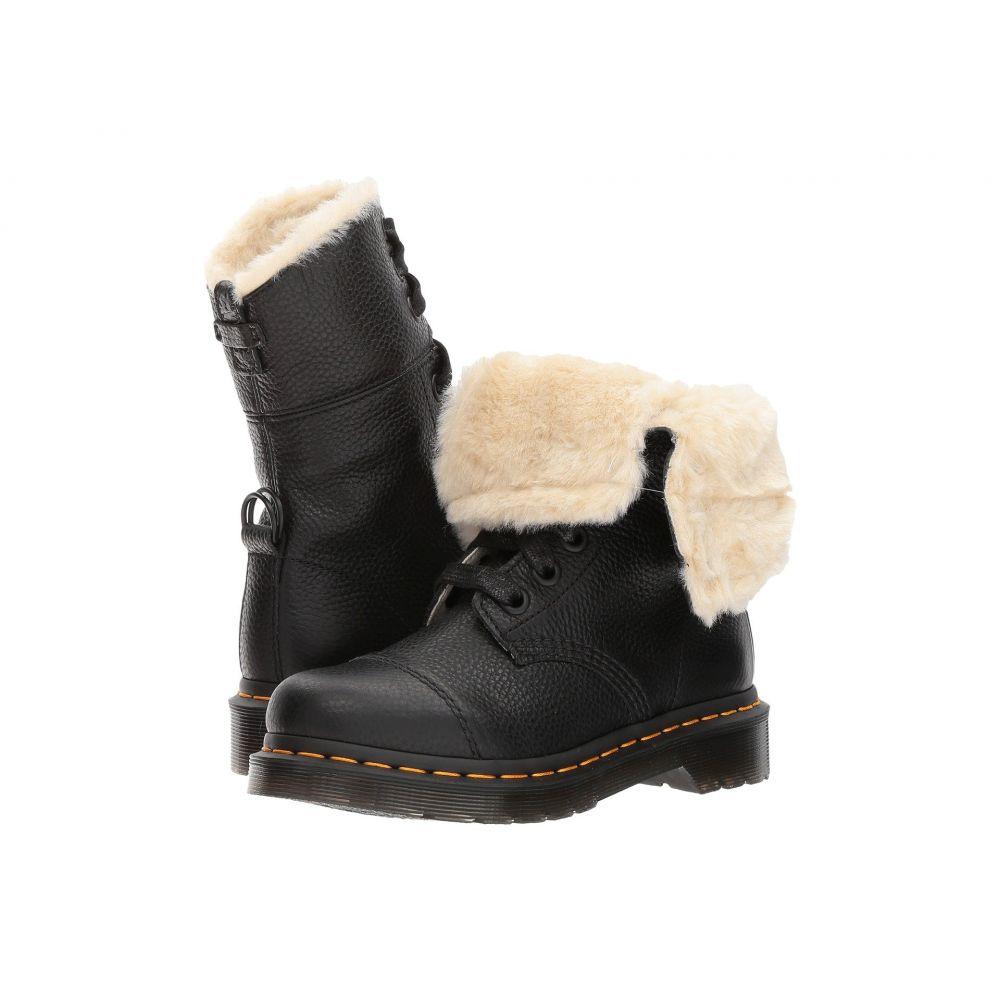ドクターマーチン Dr. Martens レディース ブーツ シューズ・靴【Aimilita FL 9-Eye Toe Cap Boot】Black Aunt Sally
