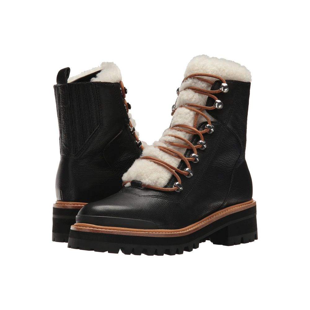 マーク フィッシャー Marc Fisher LTD レディース ハイキング・登山 シューズ・靴【Izzie】Black/Natural Leather