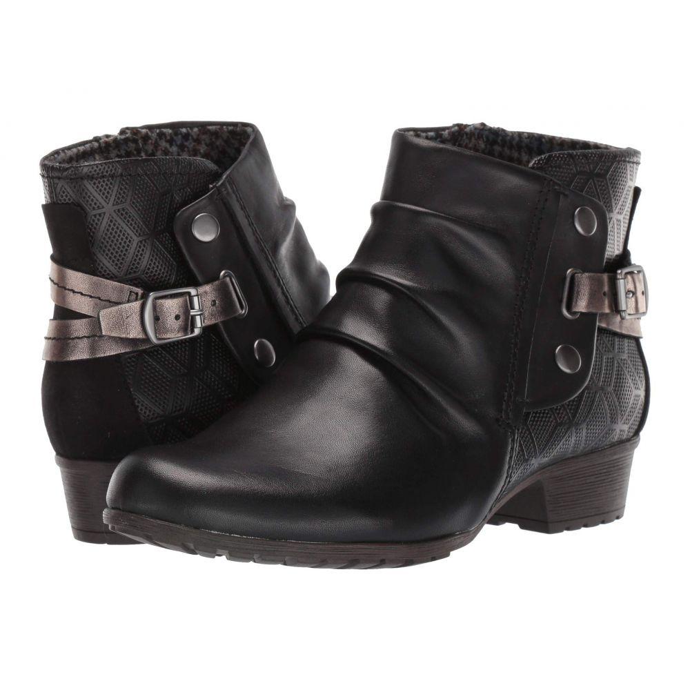 ロックポート Rockport Cobb Hill Collection レディース ブーツ シューズ・靴【Gratasha Hardware Boot】Black