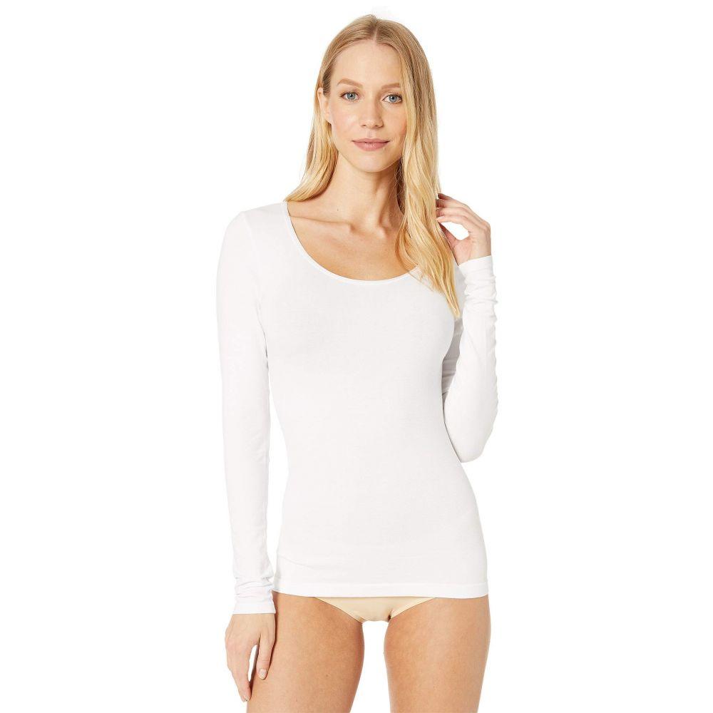 ユミエ Yummie レディース Tシャツ トップス【Karlie Cotton Seamless Top】White