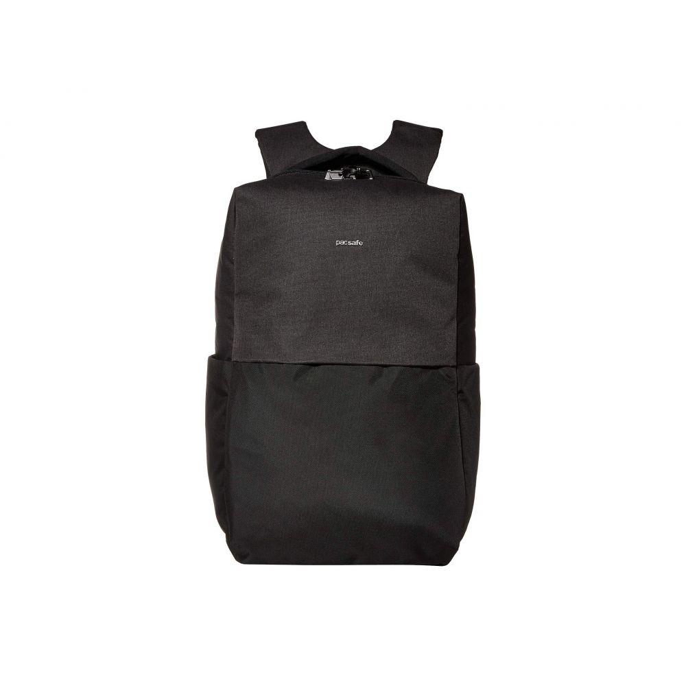 パックセイフ Pacsafe レディース パソコンバッグ バックパック バッグ【15' Intasafe X Laptop Anti-Theft Backpack】Black