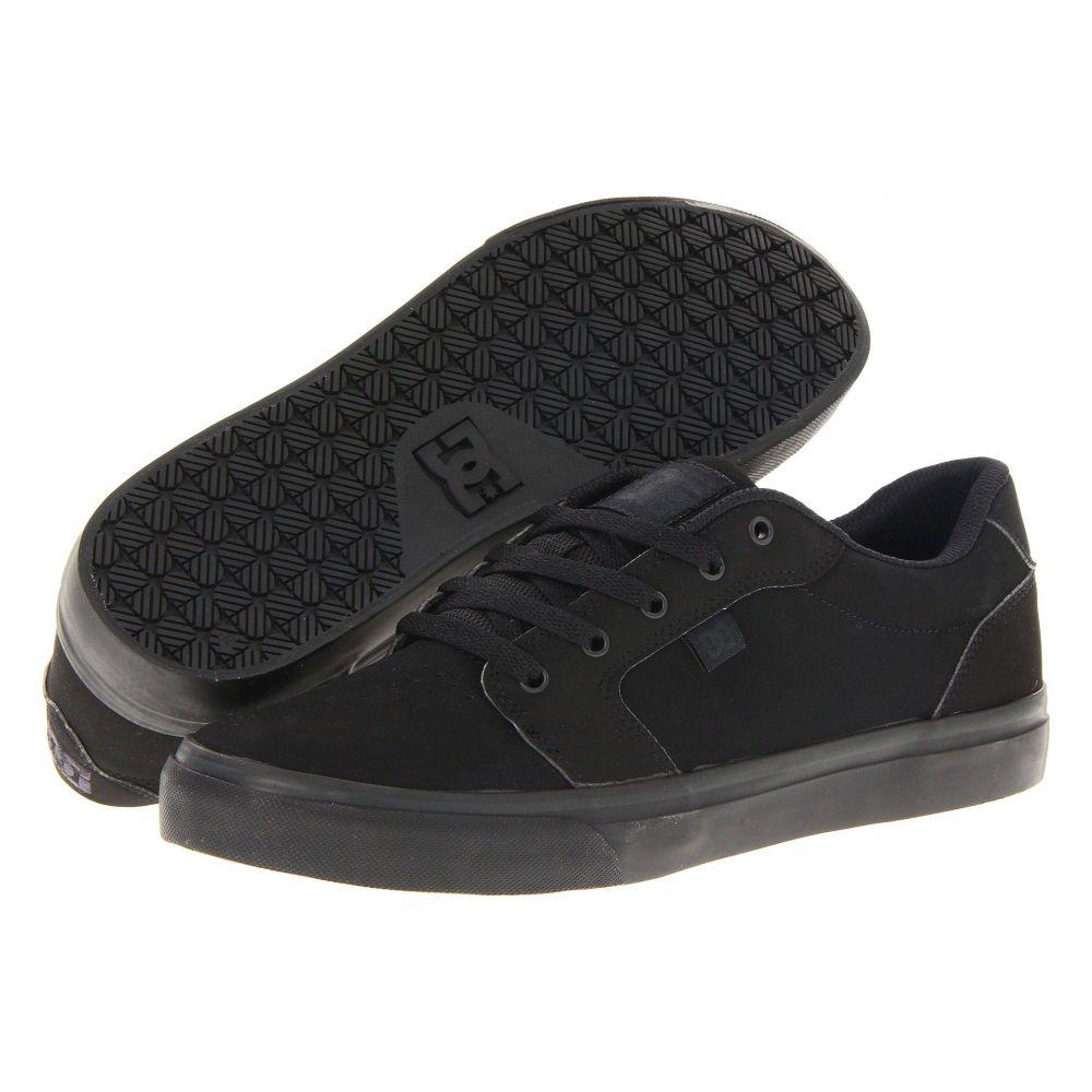 ディーシー DC メンズ スニーカー シューズ・靴【Anvil】Black/Black