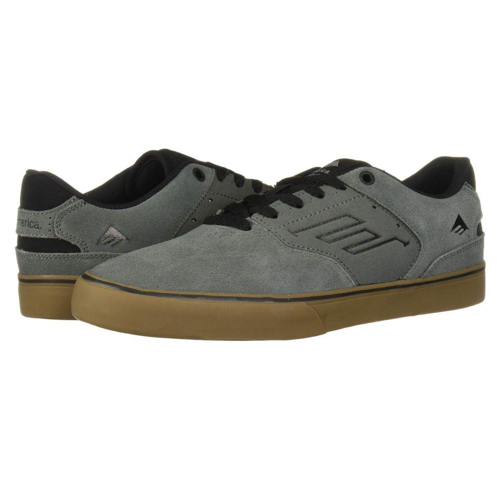 エメリカ Emerica メンズ スニーカー シューズ・靴【The Reynolds Low Vulc】Grey/Black/Gum