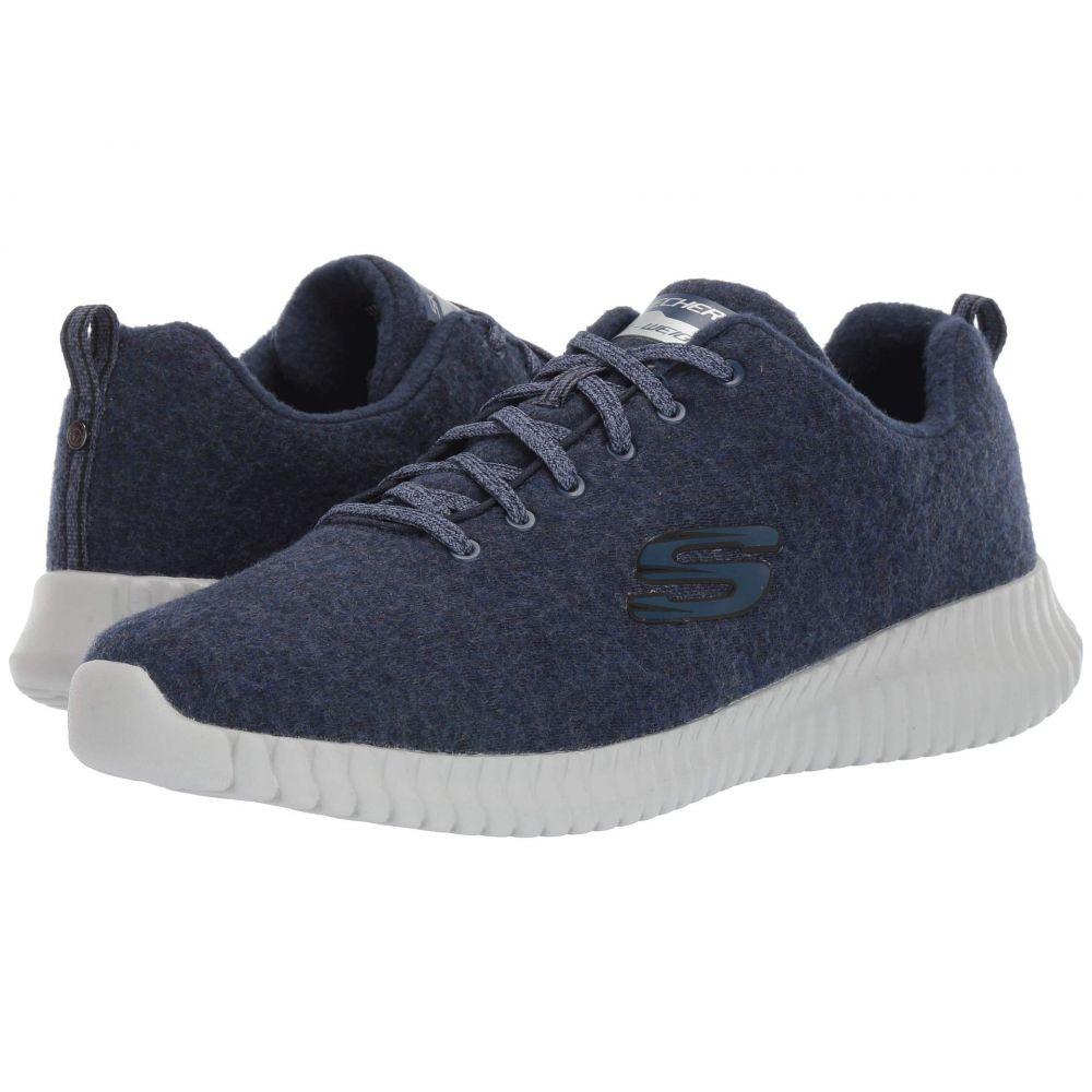 スケッチャーズ SKECHERS メンズ スニーカー シューズ・靴【Elite Flex - Swaleda】Navy