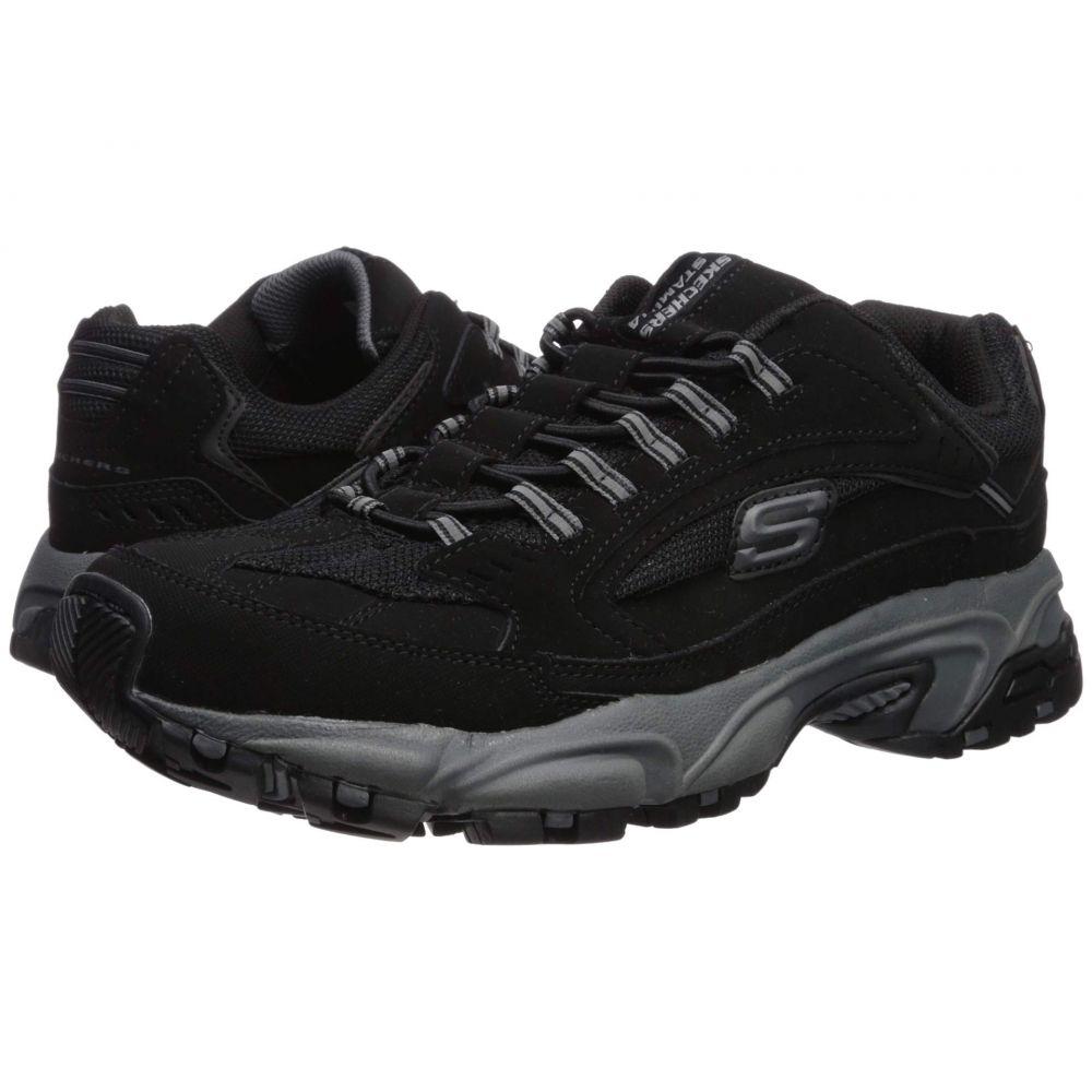 スケッチャーズ SKECHERS メンズ スニーカー シューズ・靴【Stamina Woodmer】Black/Charcoal