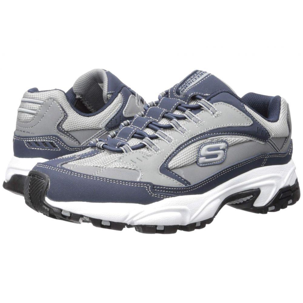スケッチャーズ SKECHERS メンズ スニーカー シューズ・靴【Stamina Woodmer】Navy/Gray