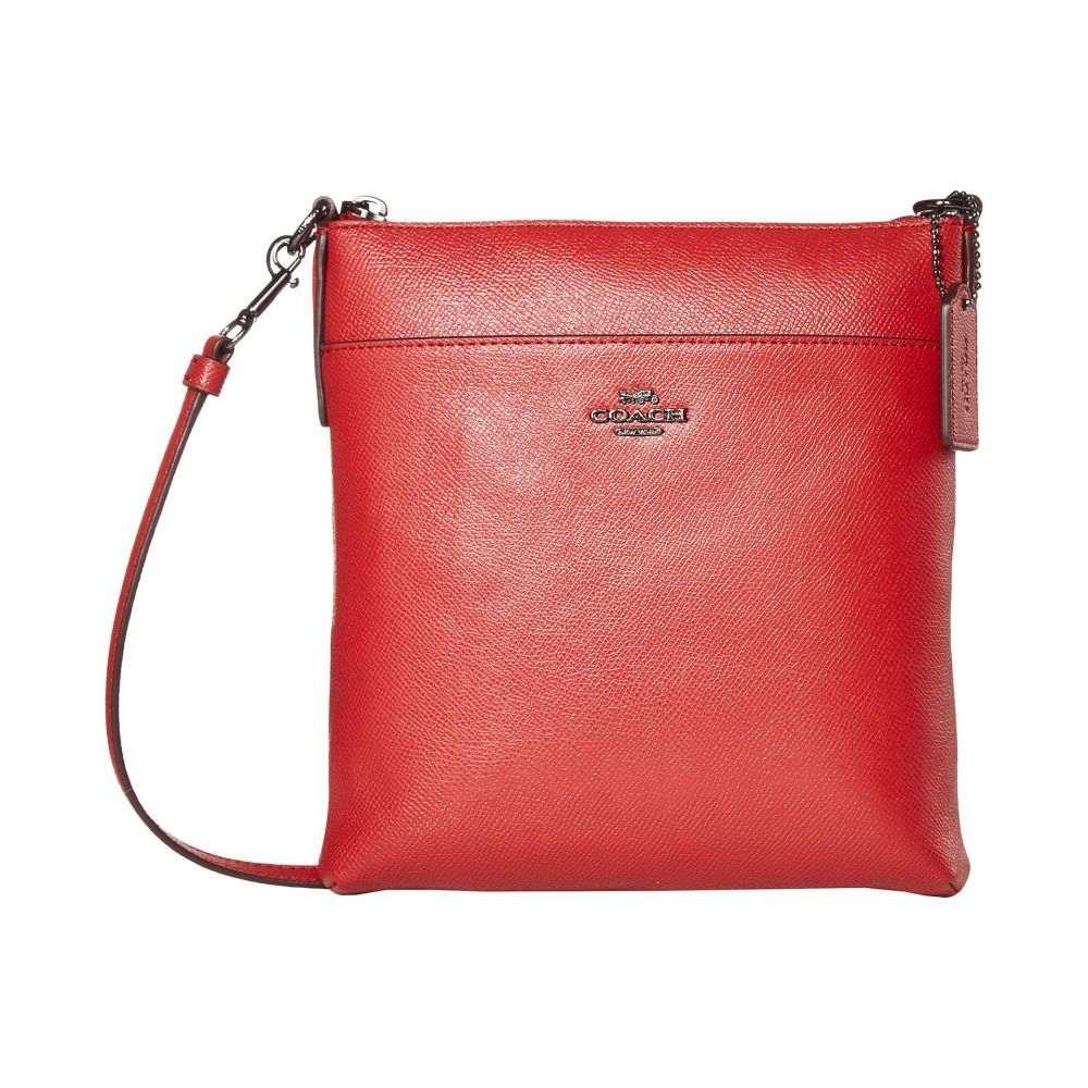 コーチ COACH レディース ショルダーバッグ バッグ【Crossgrain Leather Kitt】Red Apple/Gunmetal