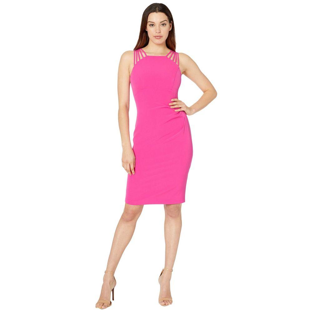 ヴィンス カムート Vince Camuto レディース ワンピース ワンピース・ドレス【Sleeveless Halter Neck with Details at the Shoulder】Hot Pink