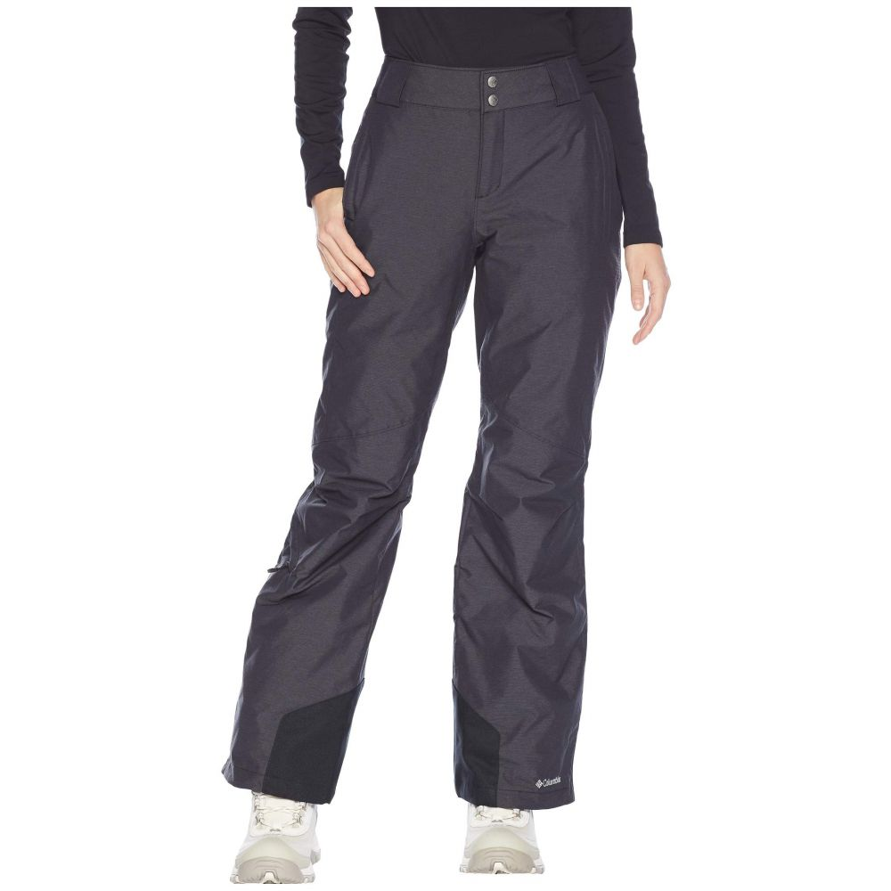 コロンビア Columbia レディース スキー・スノーボード ボトムス・パンツ【Bugaboo(TM) Omni-Heat Pants】Black Cross Dye