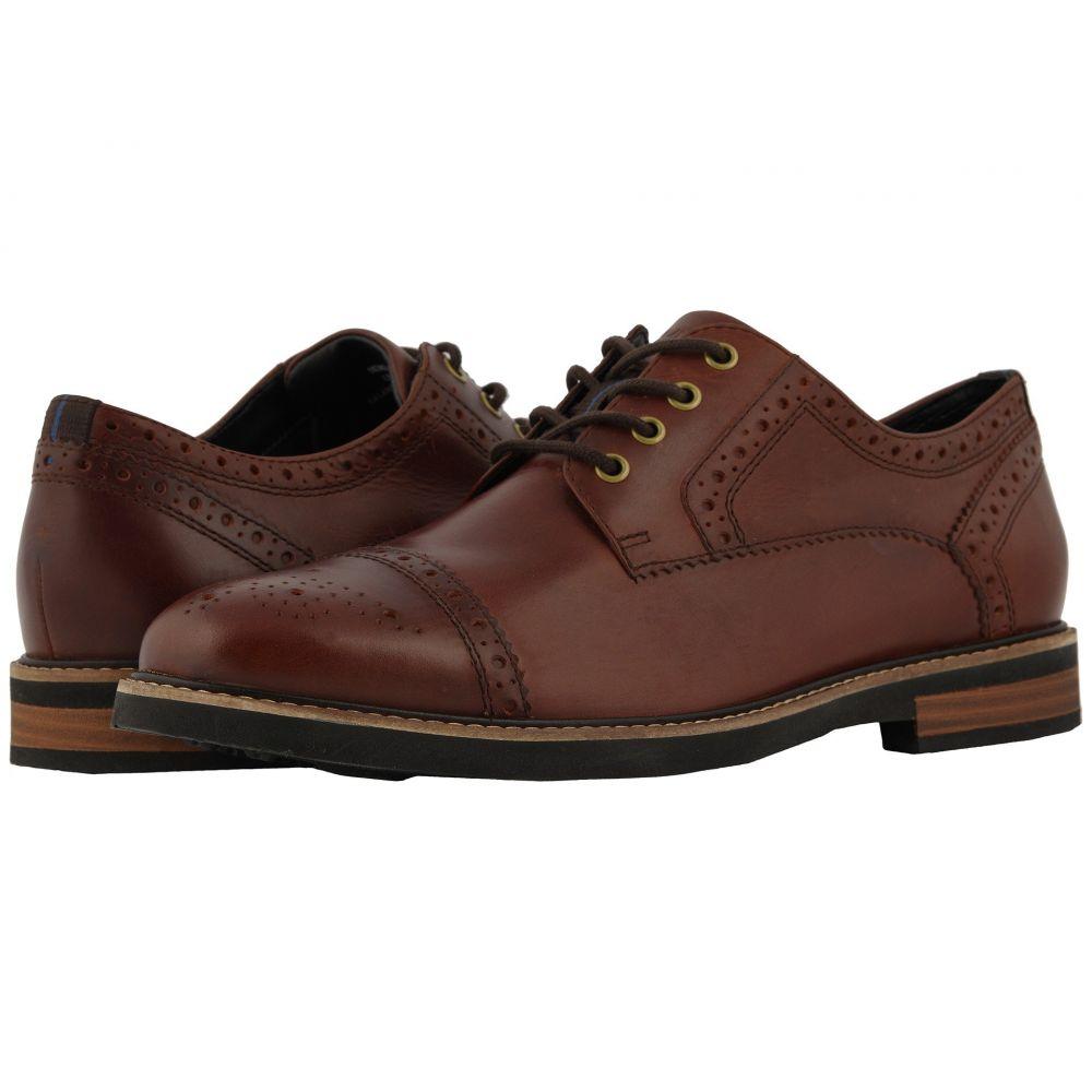 ナンブッシュ Nunn Bush メンズ 革靴・ビジネスシューズ シューズ・靴【Overland Cap Toe Oxford with KORE Walking Comfort Technology】Rust